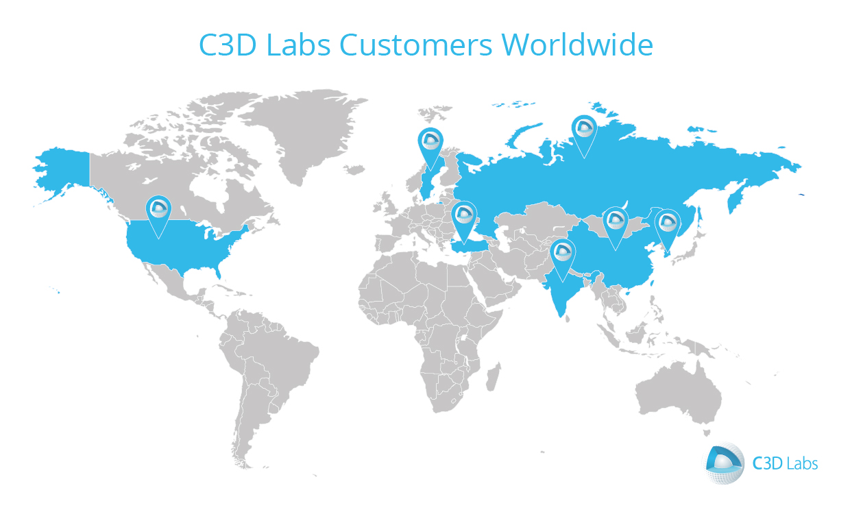 C3D Labs Reports Results for 2017  Record Revenues in the